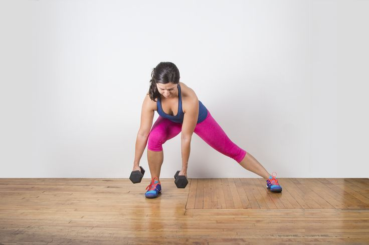 Dumbbell Lateral Lunge #lunge #bodyweightexercise #bodyweight