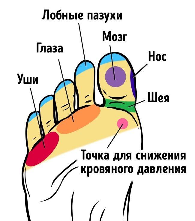 21 точка на стопах, массаж которых улучшает самочувствие. Обсуждение на LiveInternet - Российский Сервис Онлайн-Дневников