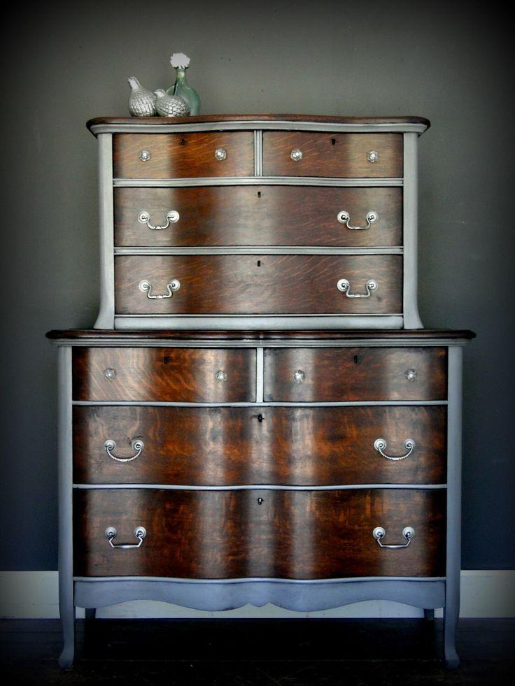 Pin by Heather Baker on Dresser Makeovers Oak bedroom
