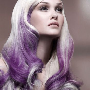 colors for short hair styles white and purple hair beautiful hair hair 4055 | de6d57197a4055ee49f2bf7372d5f552