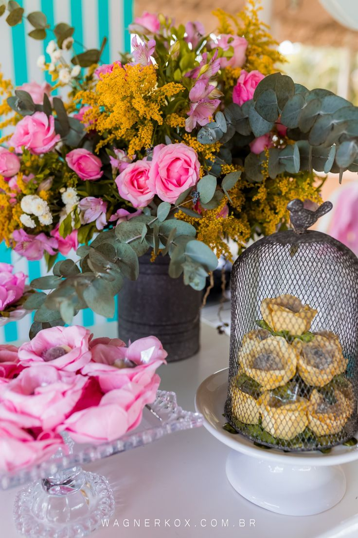 flores para festa