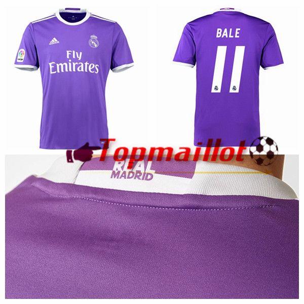 Le Maillot de Foot Real Madrid (BALE 11) Exterieur 2016/2017
