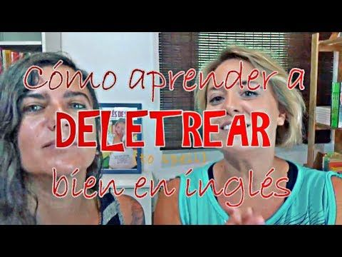Aprende a deletrear BIEN en inglés - YouTube