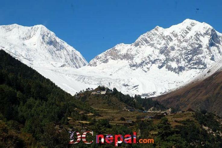 Mt.Manaslu  n Gorkha village. By DC Nepal.com