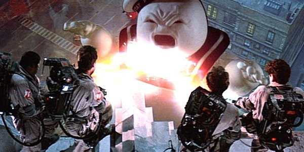 """Ghostbusters. """"It just popped in there..."""""""