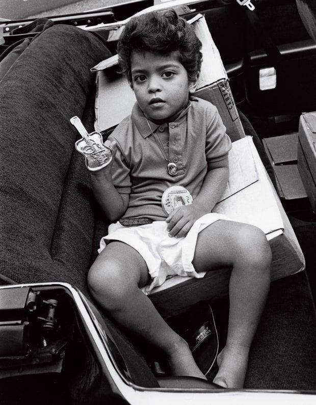 Bruno Mars recalls his childhood entertaining in Hawaii.