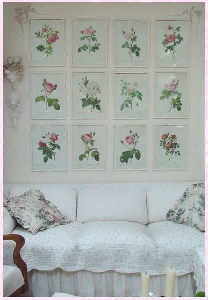 37 Dream Shabby Chic Living Room Designs - Interior Design Ideas, Home Designs, Bedroom, Living Room Designs