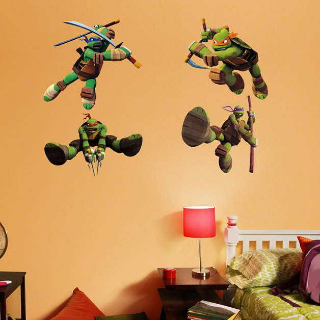 36 best images about ninja turtles nursery on pinterest for Tmnt decorations