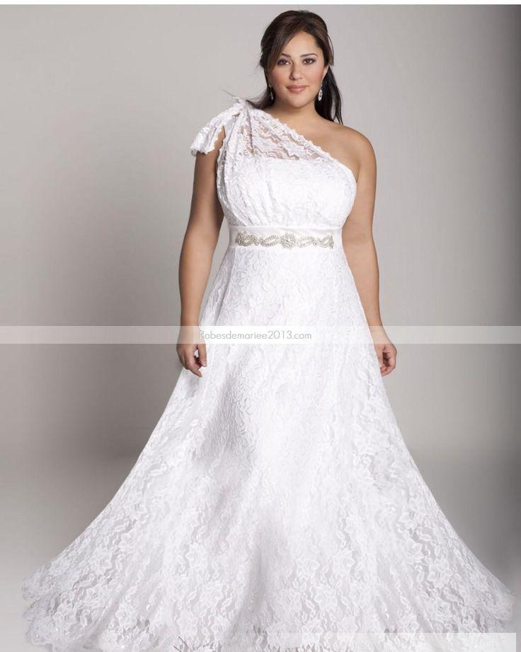 ... Dentelle Robe de mariée grande taille  Robes  Pinterest  Ps et