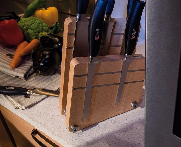 artelegno magnetic knife block u2013 milano 09 natural