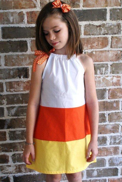 candy corn dress. Halloween Pillowcase ...