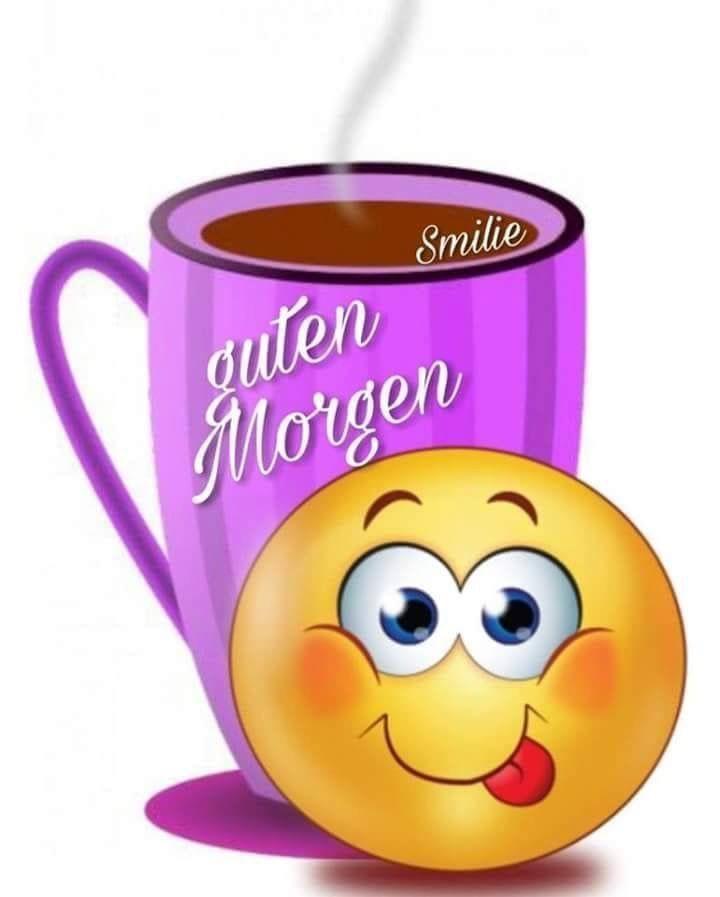 Smileys guten morgen grüße Smiley guten