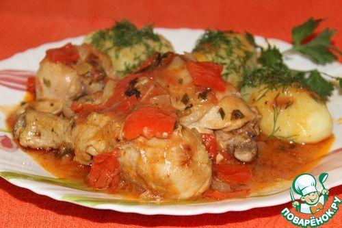 """Курица под соусом """"Пикант"""" - кулинарный рецепт"""