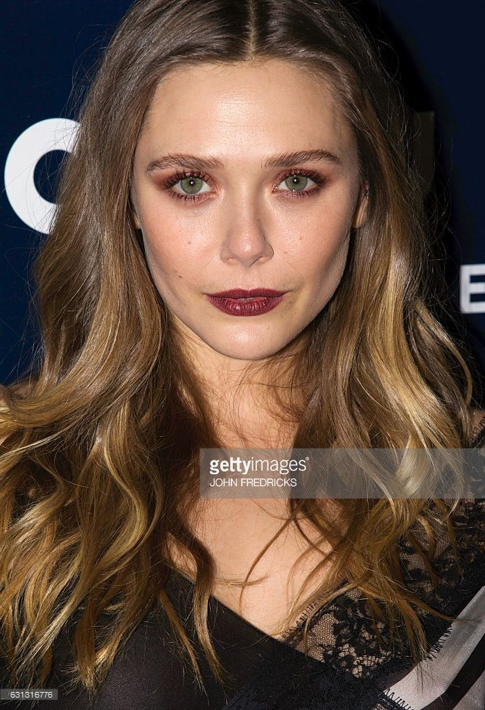 US actress Elizabeth Olsen arrives at NBCUniversal's 74th Annual Golden Globes After Party at The Beverly Hilton Hotel on January 8, 2017 in Beverly Hills, California. / AFP / John Fredricks