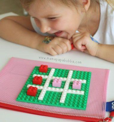 Take along lego tic-tac-toe / Hordozható amőba legóból / Mindy - craft tutorial collection
