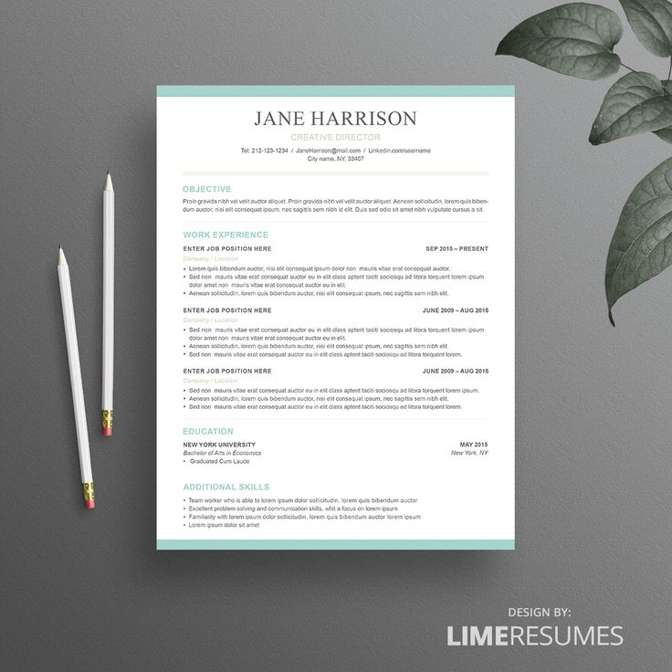 Word Resume Template Microsoft Word Resume