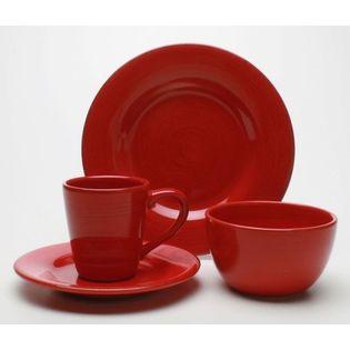 Sonoma dinnerware set in Redat Sears  sc 1 st  Pinterest & 40 best Dishes - red dinnerware images on Pinterest | Dish sets ...