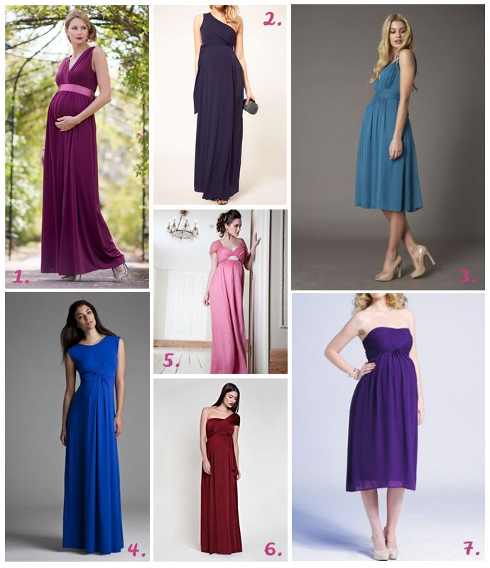 Maternity Bridesmaid Dress Fearless Brides Party