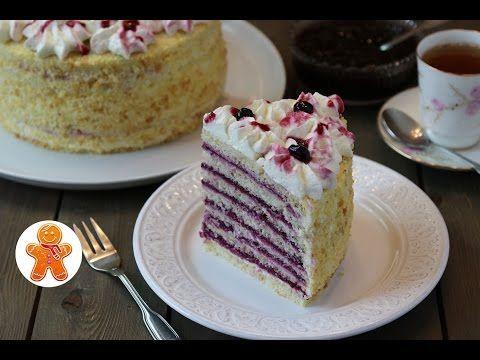 Торт «Анютины глазки»