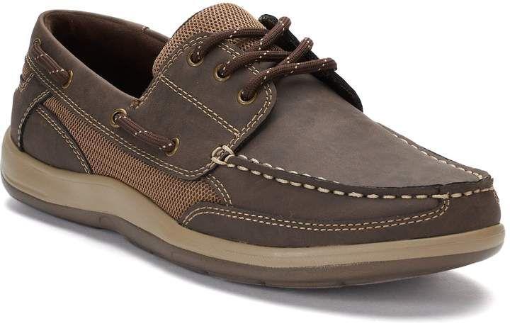 Waltz Men's Ortholite Boat Shoes