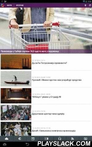 RTVojvodine  Android App - playslack.com , Android aplikacija Radio-televizije Vojvodine.Vesti, video, komentari, program, odloženo gledanje, podcast, vremenska prognoza, kursna lista, Čit@j mi...Radio i TV uživo.Za gledanje TV1 i TV2 uživo, potrebno je imati instaliran VLC video player beta za Android.