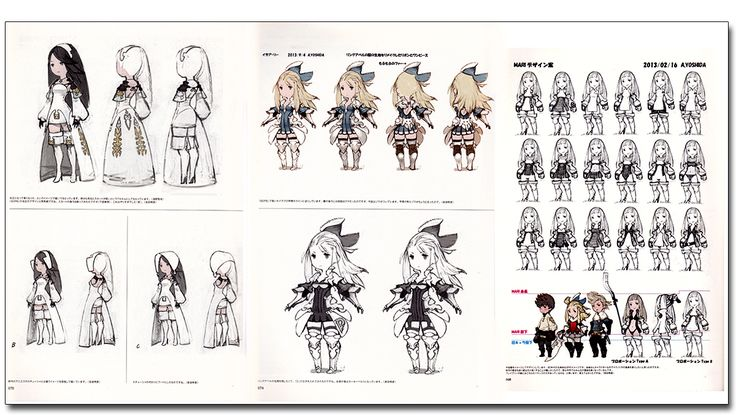 Art of Bravely Second End Layer 2013-2015 Art Book - Anime Books