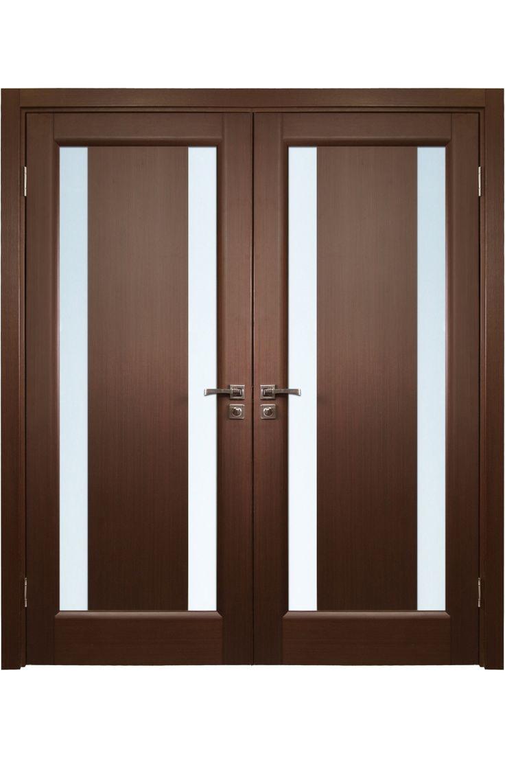 31 best images about front door on pinterest dark for Modern wooden double door designs