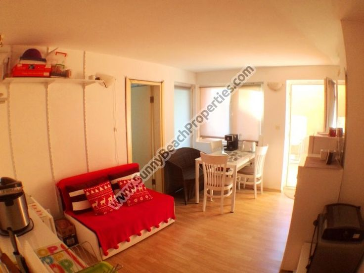 Half-furnised 1-bedroom apartment in residential building for sale 450m from beach, Sveti Vlas, Bulgaria - Sunnybeach Properties - Real Estates in Bulgaria. Apartments, Villas, Houses, Land in Sunny Beach, Nesebar, Ravda ...