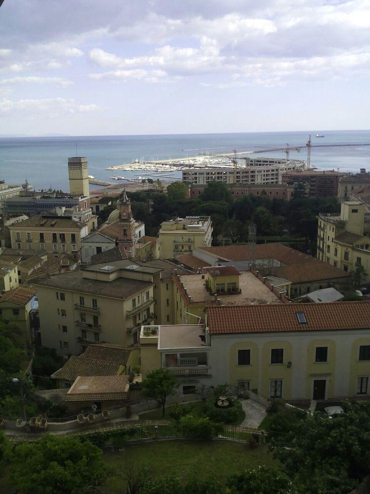 Veduta di Salerno dai Giardini bella Minerva