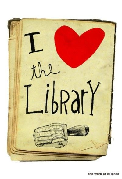 We love libraries too! #library