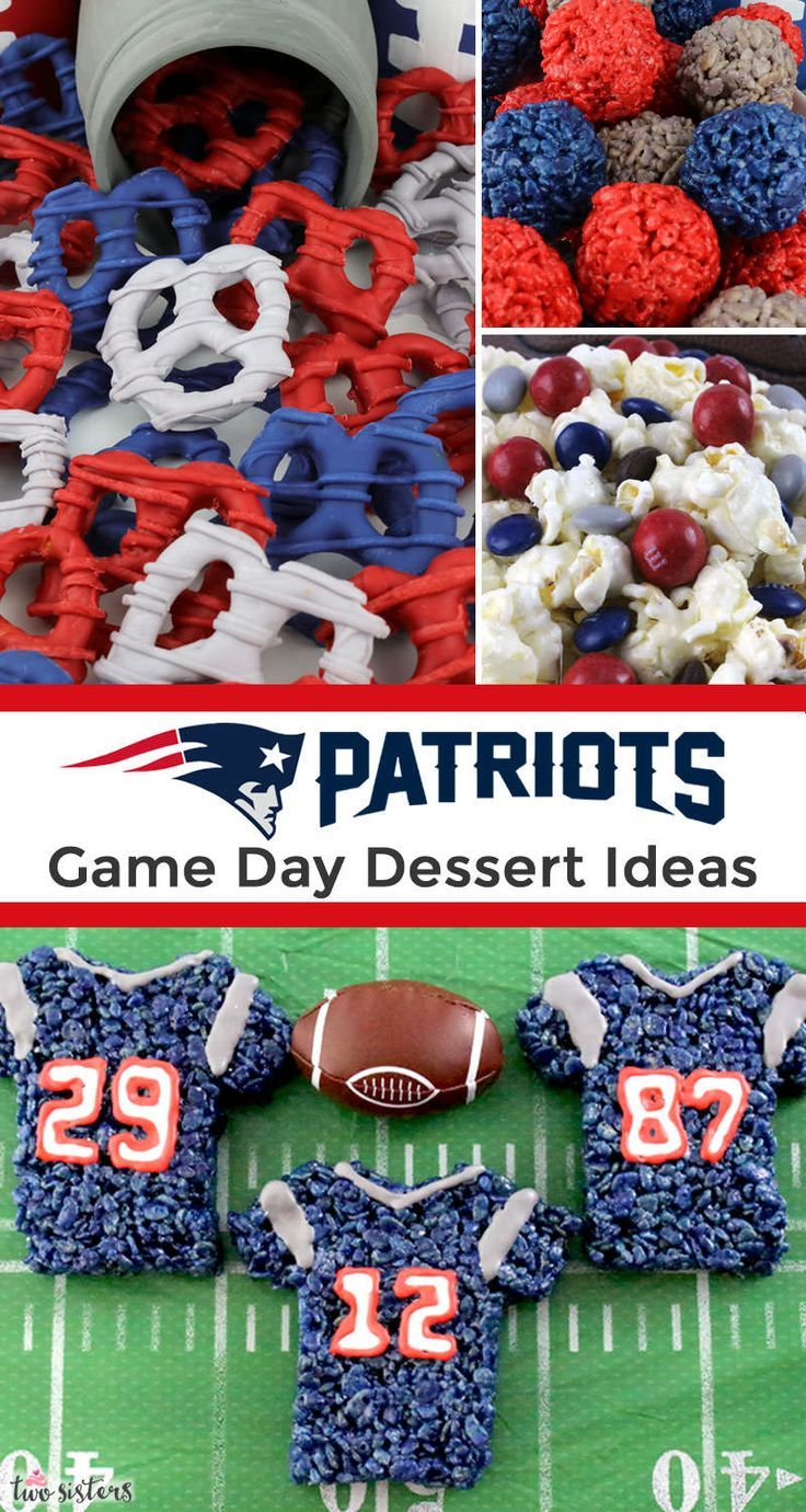 New England Patriots Game Day Treats In 2020 New England Patriots Game Patriots Game England Patriots