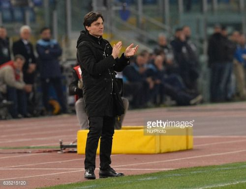 02-14 Vincenzo Montella during the Italian Serie A football... #montella: 02-14 Vincenzo Montella during the Italian Serie A… #montella