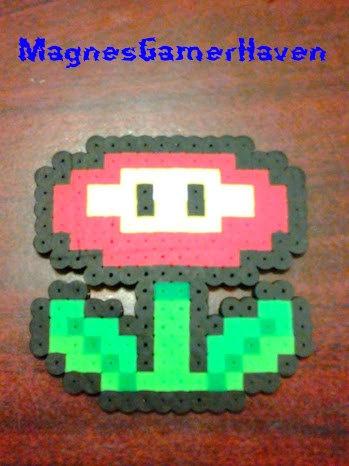Super Mario Brother's Perler Bead. $5.00, via Etsy.