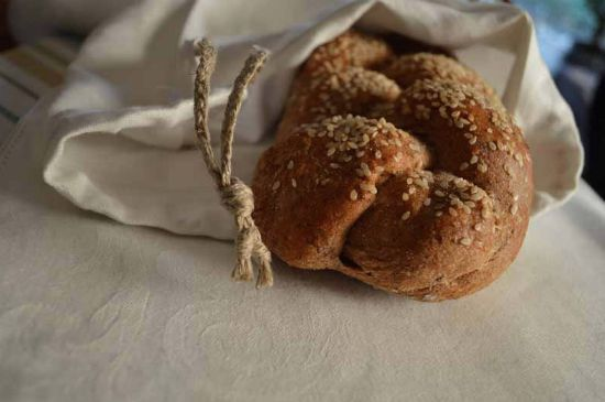 Make Linen Bread Bags In 15 Minutes (No More Moldy Bread!)