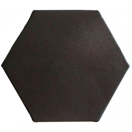 carrelage hexagonal mat noir 15 x 15 cm he0811007. Black Bedroom Furniture Sets. Home Design Ideas