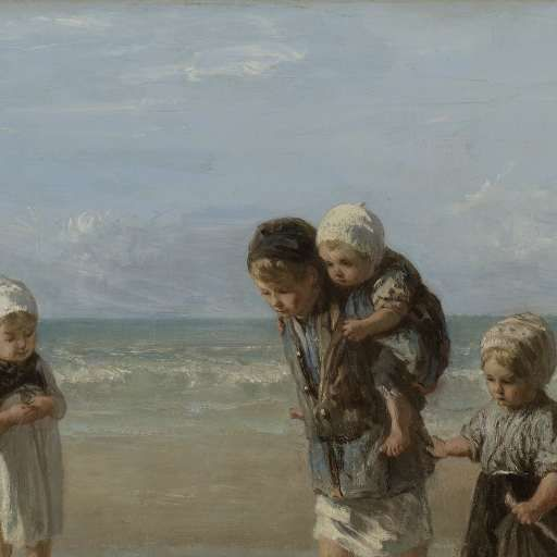 Children of the Sea, Jozef Israëls, 1872 - Search - Rijksmuseum