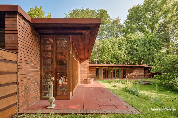 42 best usonian houses flw details images on pinterest for Frank lloyd wright piani per la casa