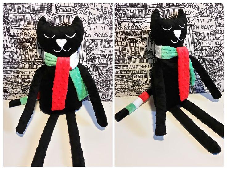 przytulanka minky Kot Legionista ;)
