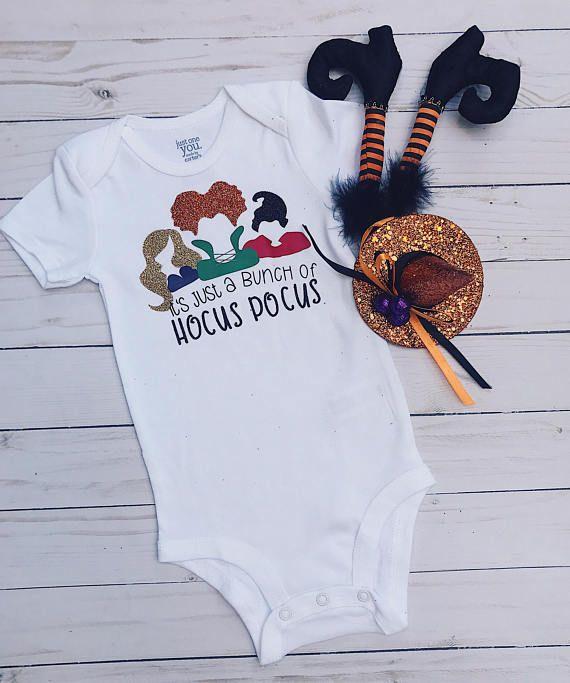 I Put a Spell on You Halloween Onsie Bodysuit Halloween Baby Onesie Halloween Baby Gift Sanderson Sisters Hocus Pocus Baby Onesie