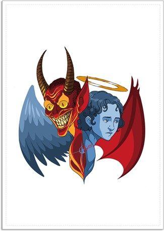 Melekler ve Şeytanlar Kendin Tasarla - Poster