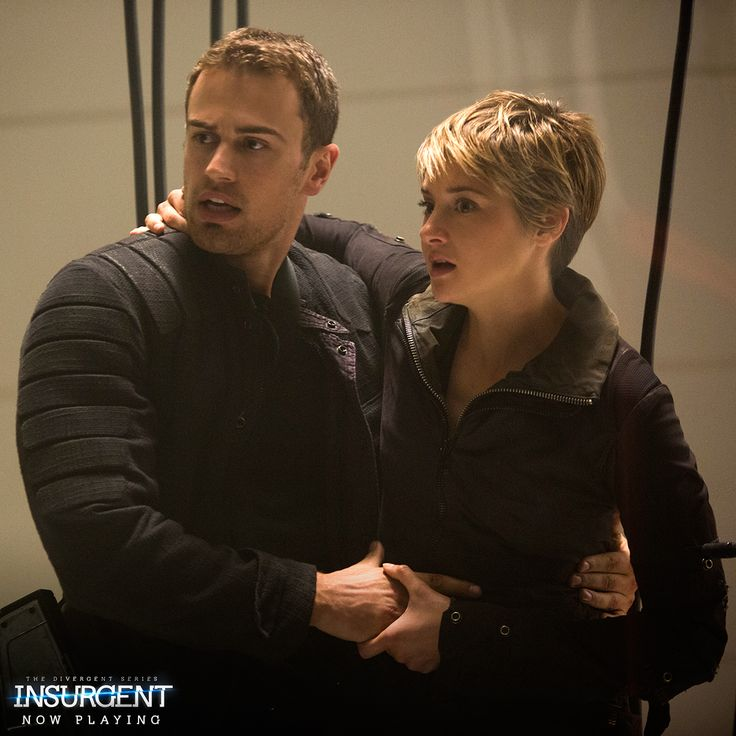 Theo James & Shailene Woodley = reason enough to see #Insurgent! http://insur.gent/tix