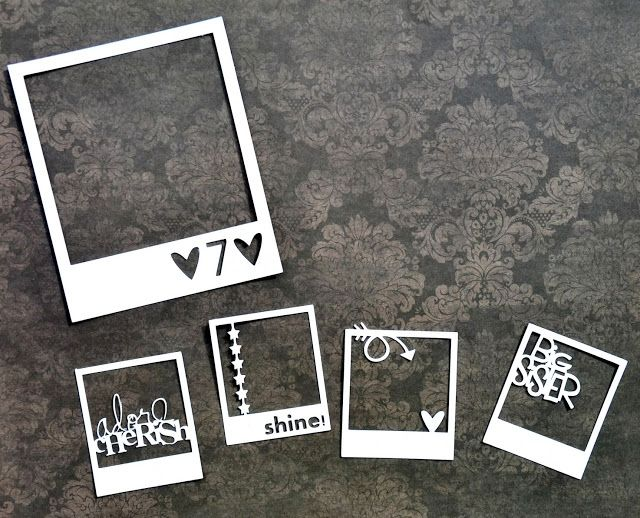 Video Tutorial: Customized Polaroid Frames by Miae Rowe - ScrapFriends - All about Scrapbooking