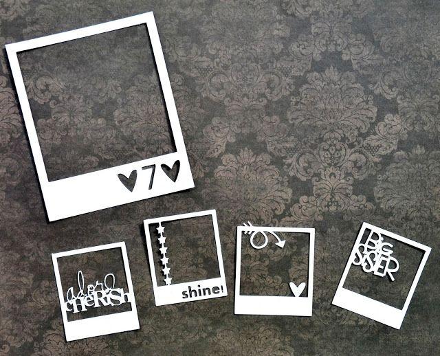 "Video Tutorial: ""Customized Polaroid Frames"" by Miae Rowe"