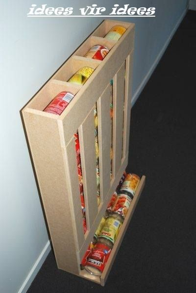 Canned goods container