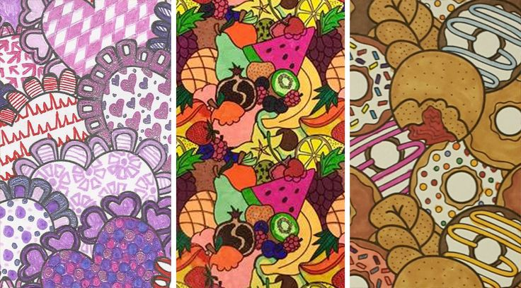 Jumbles™ can be daunting at first but each one turns out really special! - These are a lot of fun to color!