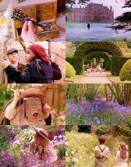 inspired by background, flowers, color tones & key pattern.  The Secret Garden- my favorite movie as a child!