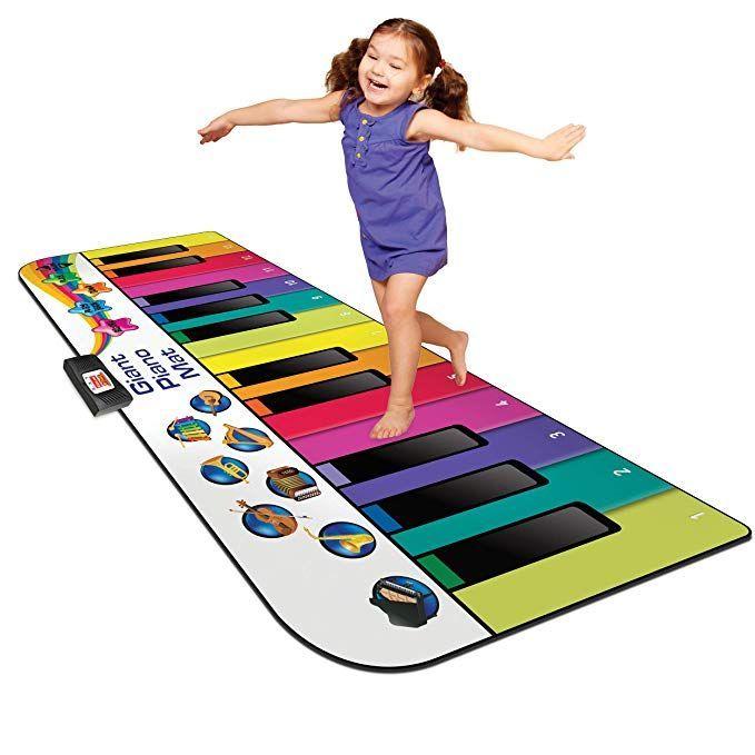 Kidzlane Floor Piano Mat Jumbo 6 Foot Musical Keyboard Playmat