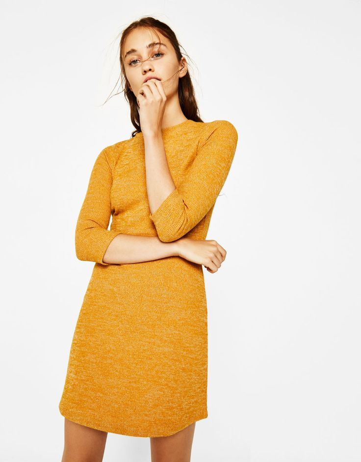 Short A-line dress. Discover this and many more items in Bershka with new products every week