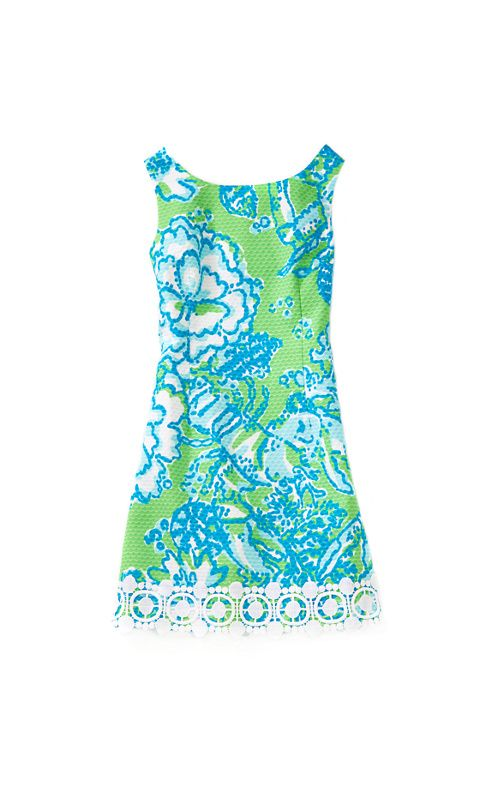 Lilly Pulitzer Little Delia Dress in Northeast Hahbah