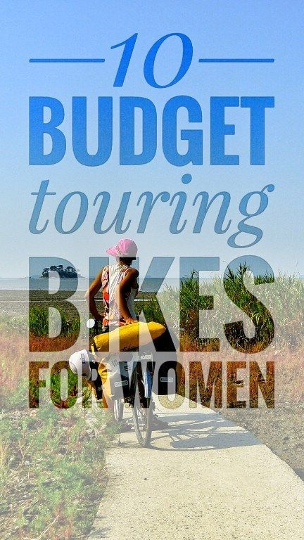 What is the difference between a man and a woman specific bicycle? Do I need to buy a woman's bike for my tour? These questions often come up when ladies begin thinking about a bicycle tour. Here are some of the best budget touring bikes for women  #roadtrip #bicycletouring #bicycletravel #worldbybike #cycling #cicloturismo #bikepacking #slowtravel #offthebeatenpath  #touringbikes #bicycle #bicycles #bici #bikes #travelgear #cycletouring #biketrip #bicycletrip